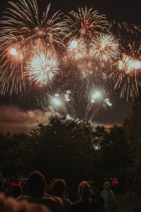 spend the 4th of July in NYC by observing fireworks in the evening