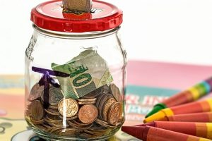 boost your relocation budget - Money savings jar.